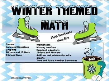 Winter Themed Math