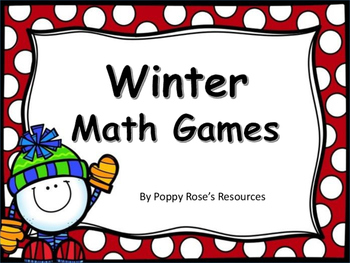 Winter Themed Math Games