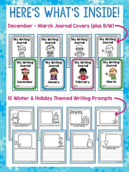 Math / Literacy / Incentives & more { Winter } Themed Packet