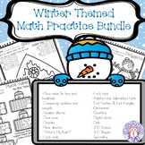 Winter Themed Math Practice Bundle