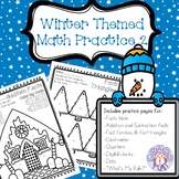Winter Themed Math Practice Pages 2