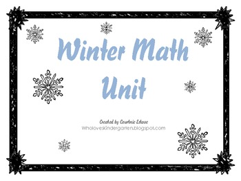 Winter Themed Math Sheets