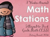 Winter Themed Math Stations
