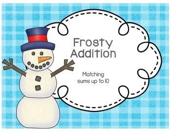 Winter Themed Math Tubs