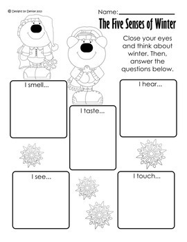 Winter Themed Math and L.A. Packet for 1st and 2nd Grade