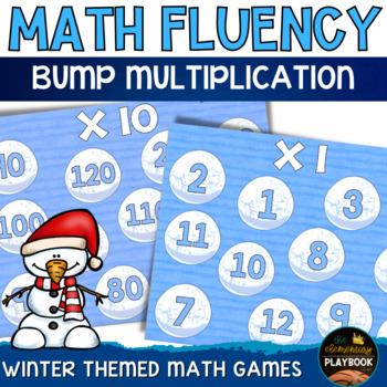 Winter Math: Multiplication BUMP