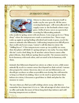 Winter Themed Nature Education Unit-Stage 2 (Magic Forest Academy)