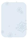 Winter Themed Newletter