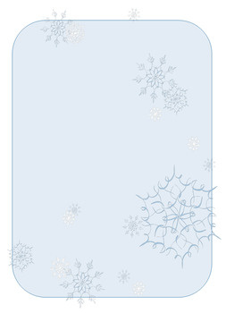 Winter Themed Newletter