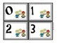 Winter Themed Number Cards 0 - 20