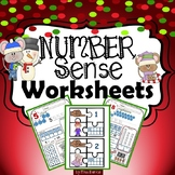 Winter Themed Number Sense Worksheets