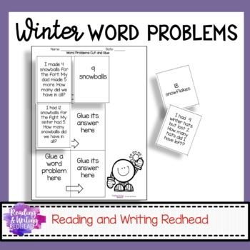 Winter Themed Number Story Practice