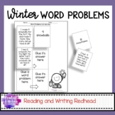 Winter Themed Word Problem Practice | Story Problems