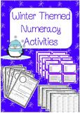 Winter Themed Numeracy Activities