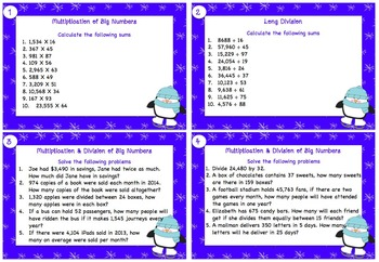 Winter Themed Numeracy Activities