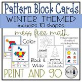Winter Themed Pattern Block Cards