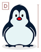 Winter-Themed Penguin Early Measuring