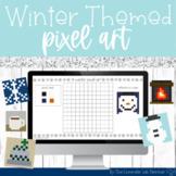 Winter Themed Pixel Art