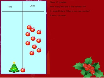 Winter Themed Placed Value with Regrouping ones