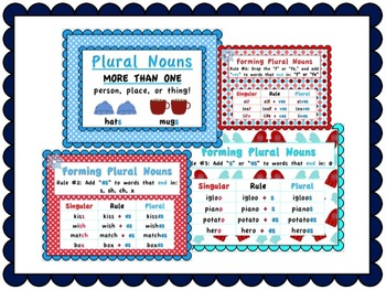 Winter Themed Plural Nouns - Mini Fun Pack