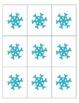 Winter Themed Positional Words Bingo
