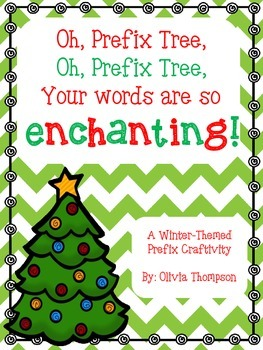 Winter-Themed Prefix Craftivity
