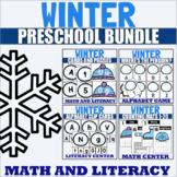 Winter Themed Preschool Activity Bundle