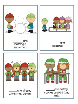 Winter Themed Pronoun Activity