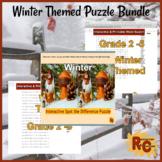 Winter Themed Puzzle Bundle G2-5