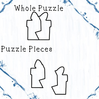 Winter Themed Puzzle Templates