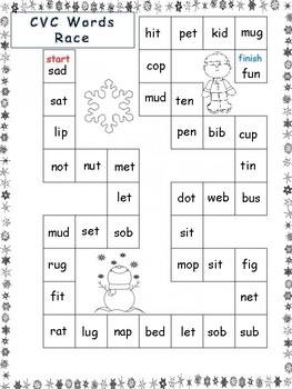 Winter Themed Reading Centers and Activities- First Grade