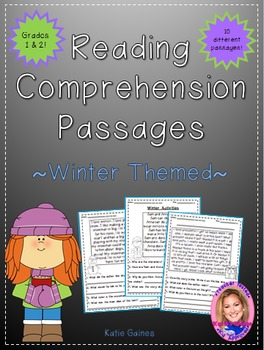 Winter Themed Reading Passages *JUST PRINT & TEACH!*