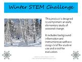 Winter Themed STEM Engineering Challenge