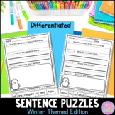 Sentence Puzzles {Winter Themes Edition}