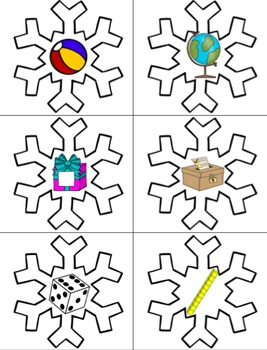 Winter Math Shape Activities {Flat and Solid Shape Sorts, Riddles, and MORE!}