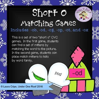 Winter Themed Short O Games