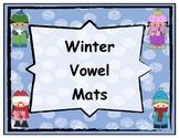 Winter Themed Short and Long Vowel Mats