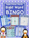Winter-Themed Sight Word Bingo-Dolch Primer Word List
