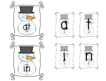 Winter Sight Word Building Fun {Full}