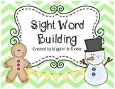 Winter Sight Word Building Fun {Full}