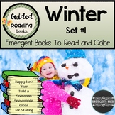 Winter Guided Readers: Set #1