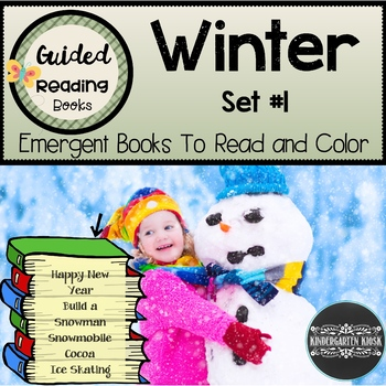 Winter Themed Sight Word Readers: Set #1