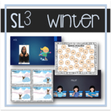 Winter-Themed Speech, Language, Literacy, and Listening Therapy