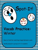 Winter-Themed Spot It/Dobble/Vocabulary Game