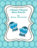 Winter Themed Story Boards