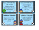 Winter Themed Subject or Predicate SORT- 20 Task Cards!