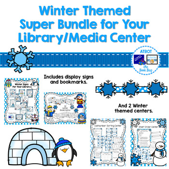 Winter Themed Super Bundle for Your Libary/Media Center