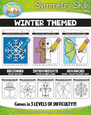 Winter Symmetry Skill Activity Pack {Zip-A-Dee-Doo-Dah Designs}