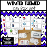 Winter Themed Task Box Set- 8 Unique Task Boxes for Practi