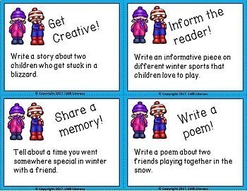 Winter Themed Task Cards